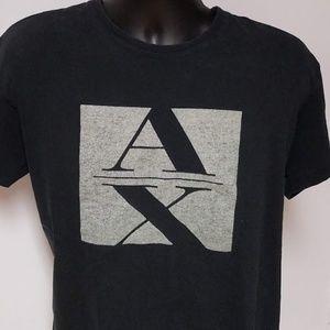 Black A/X Armani Exchange T Shirt